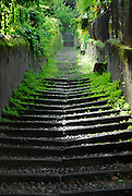 Stairs at Lake Como, Italy