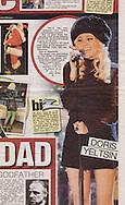 Pixie Lott / Daily Mirror / December 2010