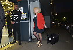 © Licensed to London News Pictures.  08/06/2017; Bristol, UK. General Election 2017; Ballot boxes arrive at the election count at City of Bristol Academy for Bristol West and Bristol East seats. Picture credit : Simon Chapman/LNP
