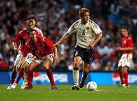 Fotball<br /> Treningskamp<br /> England v Japan<br /> 1. juni 2004<br /> City of Manchester Stadium<br /> Foto: Robin Parker, Digitalsport<br /> NORWAY ONLY<br /> Junichi Inamoto