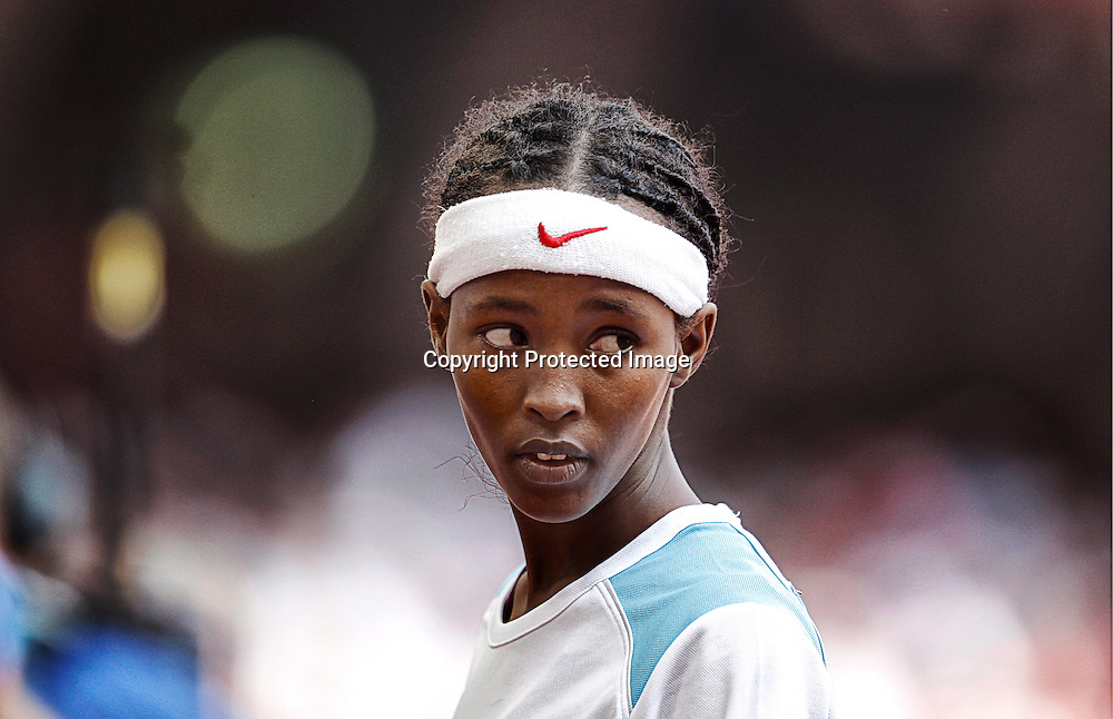 17 years old Somalian athlete Samia Yusuf Omar at the start of the women's 200 meters heats in the National Stadium at the Beijing 2008 Olympic Games in Beijing, China on 19 August 2008. Samia Yusuf Omar is believed to have drowned while trying to reach Italy on a boat full of migrants, a colleague revealed during a recent talk in Italy. The website pubblicogiornale.it at the weekend quoted Abdi Bile, a former 1,500-meter world champion also from Somalia, as announcing the death of the 21-year-old sprinter. She seemingly drowned with other migrants in the wreck of a boat while trying to cross the Mediterranean Sea from Libya. Bile did not specify when the incident might have occurred.  EPA/KERIM OKTEN