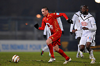 FOOTBALL - FRENCH LEAGUE CUP 2009/2010 - 1/8 FINAL - 26/01/2010 - LE MANS UC v GIRONDINS BORDEAUX - PHOTO GUY JEFFROY / DPPI - ANTHONY LE TALLEC (MANS)