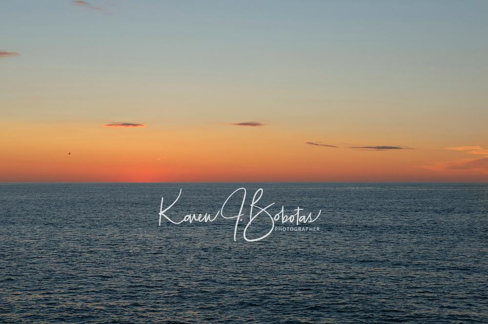 Sunrise Marginal Way Ogunquit, Maine.  ©2012 Karen Bobotas Photographer