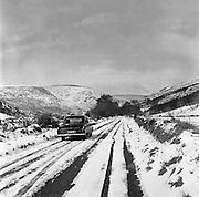 Snow Scenes, Co. Wicklow.03.03.1962