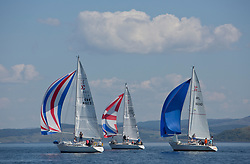 Sailing - SCOTLAND  - 25th-28th May 2018<br /> <br /> The Scottish Series 2018, organised by the  Clyde Cruising Club, <br /> <br /> First days racing on Loch Fyne., Sigma 33 , Fleet with GBR4603, Vendeval, Colin Greer, HSC, Sigma 33, IRL16010, Busy Beaver, M Bradshaw,J Gallagher, Cove Sailing Club, Sigma 33 OOD<br /> <br /> Credit : Marc Turner<br /> <br /> <br /> Event is supported by Helly Hansen, Luddon, Silvers Marine, Tunnocks, Hempel and Argyll & Bute Council along with Bowmore, The Botanist and The Botanist