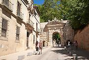 Historic Puerta de los Granadas, Granada, Spain
