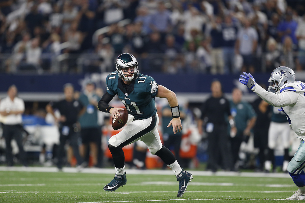 During the NFL game between the Philadelphia Eagles and the Dallas Cowboys in Arlington, Texas on Sunday October 30th 2016. The Cowboys won 29-23 in overtime. (Brian Garfinkel/Philadelphia Eagles)