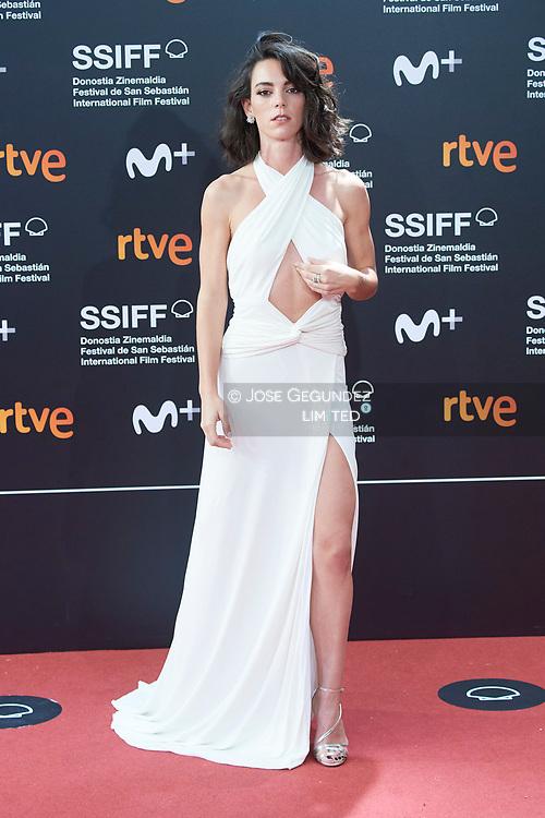 Vicky Luengo attended 'Antidisturbios' Red Carpet during 68th San Sebastian International Film Festival at Kursaal Palace on September 25, 2020 in Donostia / San Sebastian, Spain