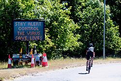 Stay Alert - new government instructions during Coronavirus lockdown, UK May 2020