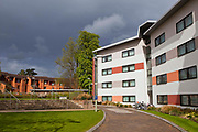 Reading university halls of residence. These buildings are designed for student living.  Reading, Berkshire, UK.
