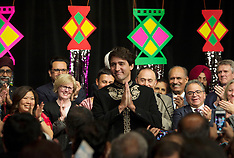 PM Justin Trudeau At A Diwali Ceremony - 16 Oct 2017