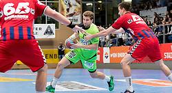 15.10.2016, Halle Hollgasse, Wien, AUT, HLA, SG INSIGNIS Handball WESTWIEN vs HC Fivers WAT Margareten, Grunddurchgang, 8. Runde, im Bild Simon Pratschner (WestWien) // during Handball League Austria, 8 th round match between HC Fivers WAT Margareten and SG INSIGNIS Handball WESTWIEN at the Halle Hollgasse, Vienna, Austria on 2016/10/15, EXPA Pictures © 2016, PhotoCredit: EXPA/ Sebastian Pucher