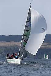 The Clyde Cruising Club's Scottish Series held on Loch Fyne by Tarbert. Day 2 racing in a perfect southerly..IRL7386 ,The Gathering Ireland ,Martin Breen ,Galway Bay YC ,Reflex 38
