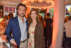Nettie Wakefield and Alex Zane at the Belmond Cadogan Hotel Grand Opening, Sloane Street, London England. 16 May 2019. <br /> <br /> ***For fees please contact us prior to publication***