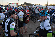 Riders wait to start the Prologue of the 2018 Absa Cape Epic Mountain Bike stage race held at the University of Cape Town (UCT) in Cape Town, South Africa on the 18th March 2018<br /> <br /> Photo by Greg Beadle/Cape Epic/SPORTZPICS<br /> <br /> PLEASE ENSURE THE APPROPRIATE CREDIT IS GIVEN TO THE PHOTOGRAPHER AND SPORTZPICS ALONG WITH THE ABSA CAPE EPIC<br /> <br /> {ace2018}