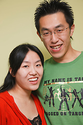 Chinese couple.