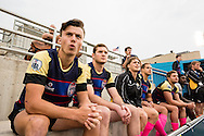 Lindenwood University takes on the University of Wyoming at Red Bull Uni 7s Rugby Qualifiers at Infinity Park in Glendale, CO, USA, on 25 August, 2016.