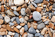 Pebble Beach, Sandwich Bay, Kent UK - Kent Wildlife Trust, smooth rounded stones caused by tidal flow & erosion