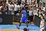 DESCRIZIONE : Supercoppa 2015 Semifinale Banco di Sardegna Sassari - Grissin Bon Reggio Emilia<br /> GIOCATORE : Christian Eyenga<br /> CATEGORIA : esultanza composizione<br /> SQUADRA : Banco di Sardegna Sassari<br /> EVENTO : Supercoppa 2015<br /> GARA : Banco di Sardegna Sassari - Grissin Bon Reggio Emilia<br /> DATA : 26/09/2015<br /> SPORT : Pallacanestro <br /> AUTORE : Agenzia Ciamillo-Castoria/GiulioCiamillo