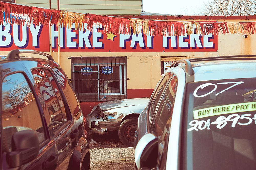 Car lot Tonnelle Av North Bergen, NJ 2016