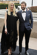 l to r: Claudia Schaffer and Stefano Pilati arrives at The Metropolitan Opera's 125th Anniversary Gala and Placido Domingo's 40th Anniversary Celebration underwritten by Yves Saint Laurent held at The Metropolitian Opera House, Lincoln Center on March 15, 2009 in New York City.
