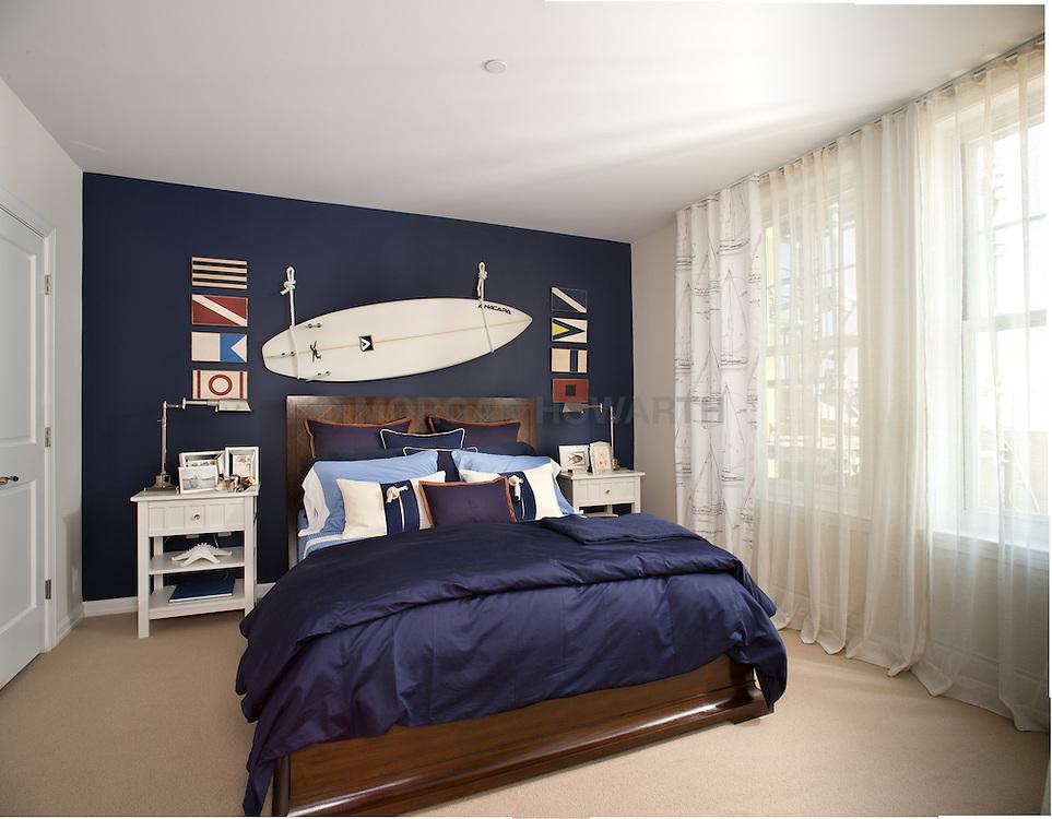 bedroom The Grand at Diamond Beach 9600 Atlantic Avenue Wildwood, NJ Designer Jeff Akseizer Master Bedroom