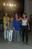 Queen Letizia, Princess Elena princess Sofia, princess Leonor and Princess Irene of Greece attend Ara Malikian concert at Port Adriano in Palma de Mallorca, Spain on 1st of August of 2018.