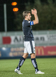 Falkirk's Will Vaulks at the end. <br /> Falkirk 5 v 0 Alloa Athletic, Scottish Championship game played at The Falkirk Stadium. © Ross Schofield