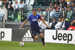 October 14, 2017 - Turin, Piedmont, Italy - Senad LULIC (SS Lazio) during the Serie A football match between Juventus FC and SS Lazio at Olympic Allianz Stadium on 14 October, 2017 in Turin, Italy. (Credit Image: © Massimiliano Ferraro/NurPhoto via ZUMA Press)