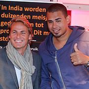NLD/Amsterdam/20110925 - Benefietavond Red Sun Stichting Stop Kindermisbruik, John Ewbank en DJ Afrojack, Nick van der Wall