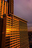 Hyatt Regency Hotel, Downtown Denver, Colorado USA.