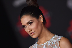 "©AXELLE/BAUER-GRIFFIN.COM World Premiere of ""Star Wars: The Last Jedi"". Shrine Auditorium, Los Angeles, CA. EVENT December 9, 2017. 09 Dec 2017 Pictured: Janina Gavankar. Photo credit: AXELLE/BAUER-GRIFFIN/MEGA TheMegaAgency.com +1 888 505 6342"