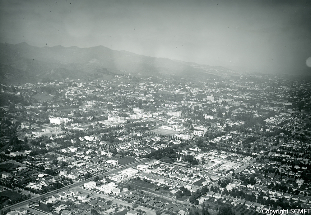 1922 Looking NE over Hollywood