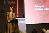 Koningin Maxima spreekt op Morningstar Investment Conference