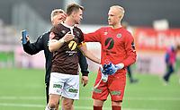 Fotball , 16. juni 2019, Eliteserien , Mjøndalen - Kristiansund 1-1<br /> Christian Gauseth , MIF<br /> Julian Faye Lund , MIF