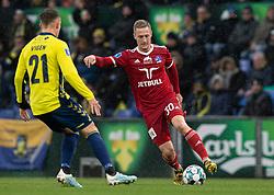 Marcel Rømer (Lyngby BK) under kampen i 3F Superligaen mellem Brøndby IF og Lyngby Boldklub den 1. marts 2020 på Brøndby Stadion (Foto: Claus Birch).