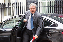 London, September 5th 2017. Minister of State for Immigration Brandon Lewis attends the first UK cabinet meeting at Downing Street after the summer recess. ©Paul Davey