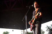 """Photos of country singer Gary Allan performing on """"The Last Rodeo Tour,"""" photographed in St. Louis on August 7, 2010."""