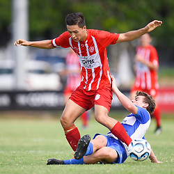 4th March 2018 - NPL Queensland U18 Boys: Olympic FC v SWQ Thunder