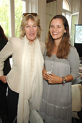 Left to right, ANNABEL ELLIOT and OLIVIA HOARE at a lunch in aid of African Solutions To African Problems held at Il Bottaccio, 9 Grosvenor Place, London on 20th May 2008.<br />