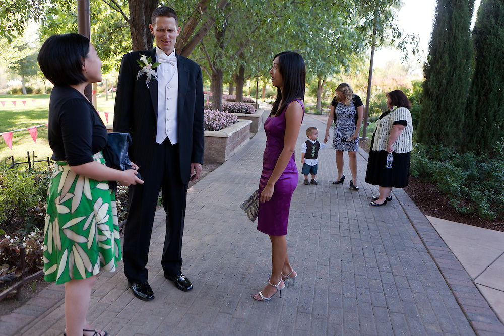 Kim and Chuck at the Botanical Gardens of ABQ BioPark in Albuquerque New Mexico on Friday, September 3, 2010.