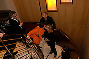 Mr. and Mrs. Stephen Bayley and Mr. and Mrs. Nick Mason. Candy & Candy. Apartment launch party Fifth Floor, 17-22 Trevor Square Tim Jefferies<br />hosts reception previewing property designers latest apartment in Knightsbridge. 18 January 2005 ONE TIME USE ONLY - DO NOT ARCHIVE  © Copyright Photograph by Dafydd Jones 66 Stockwell Park Rd. London SW9 0DA Tel 020 7733 0108 www.dafjones.com