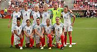 Football - 2017 UEFA Women's European [Euro] Championship - Group D: England vs. Scotland<br /> <br /> England team group at Stadion Gagenwaard, Utrecht.<br /> <br /> COLORSPORT/LYNNE CAMERON