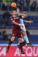 Miroslav Klose Lazio, Kamil Glik Torino.<br /> Roma 25-10-2015 Stadio Olimpico, Football Calcio 2015/2016 Serie A Lazio - Torino. Foto Antonietta Baldassarre / Insidefoto