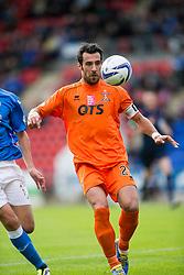 Kilmarock's Manuel Pascali.<br /> St Johnstone 1 v 2 Kilmarock, SPL game played at McDrarmid Park.