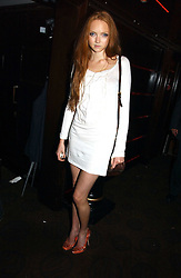 Model LILY COLE at a party to celebrate the 50th Anniversary of Gina Shoes held at The Bar, The Dorchester, Park Lane, London on 19th September 2006.<br /><br />NON EXCLUSIVE - WORLD RIGHTS