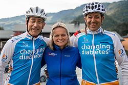 16-09-2017 FRA: BvdGF Tour du Mont Blanc day 7, Beaufort<br /> De laatste etappe waar we starten eindigen we ook weer naar een prachtige route langs de Mt. Blanc / Elias, Peter, Alberto