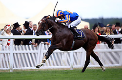 Idaho ridden by jockey Seamie Heffernan wins the Hardwicke Stakes during day five of Royal Ascot at Ascot Racecourse.