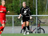 Fotball , 9. september 2006, Toppserien Eliteserien , Røa Idrettsplass . Røa - Arna-Bjørnar ,  Arna-Bjørnars Eilne Thorsnes roper ut sin frustrasjon Foto: Kasper Wikestad