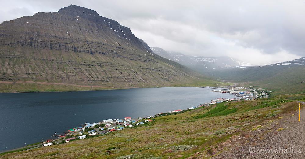 Small town, Eskifjordur, east coast of Iceland - Eskifjörður